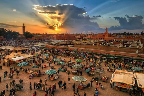 Visite guidée de Marrakech : Souk, medina, place jemaa el fna
