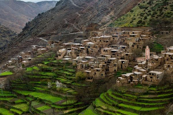 Excursion vallée d'Imlil au départ de Marrakech en priv�