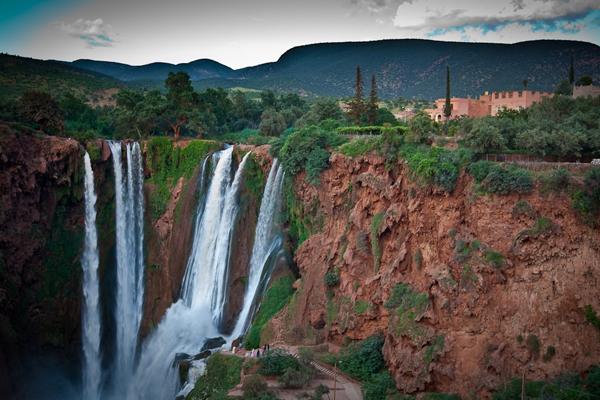 Excursion cascades d'Ouzoud d�part Marrakech