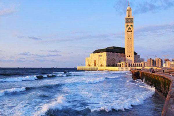 Excursion à Casablanca, départ Marrakech