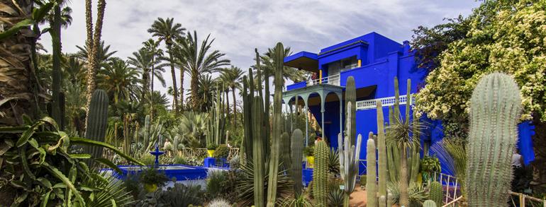 Visite des jardins du marrakech majorelle menara agdal - Les jardins de l agdal marrakech ...
