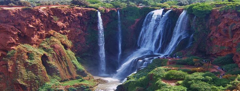 Excursion cascades d'Ouzoud ( 1 jour )